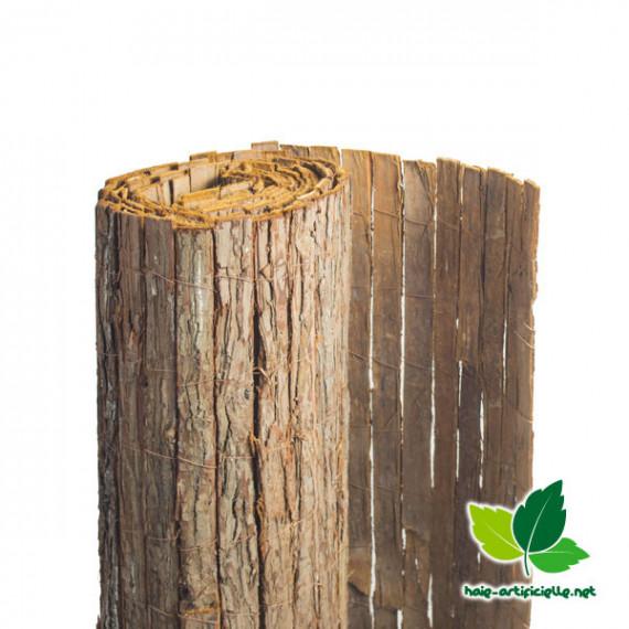 Clôture écorce de pin