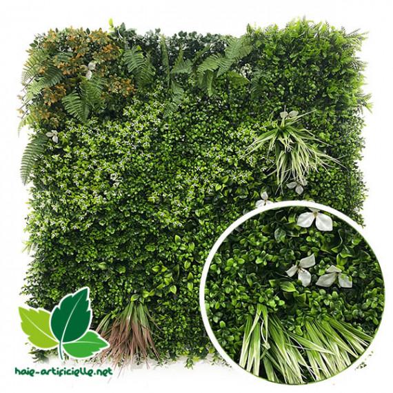 mur végétal artificiel jungle