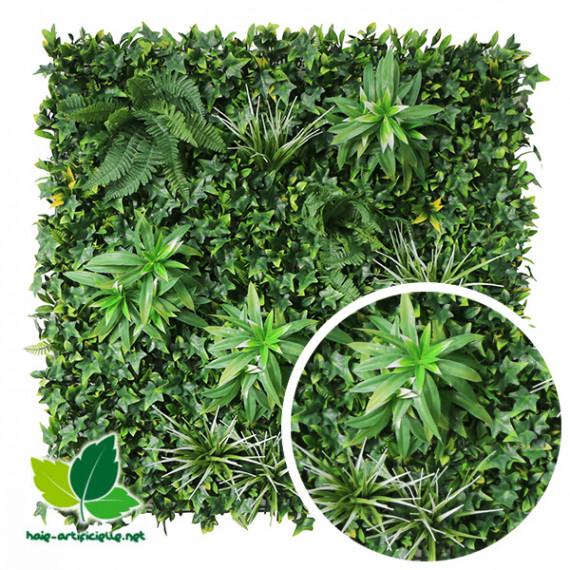 Mur Végétal Artificiel EXOTIC - 1m x 1m