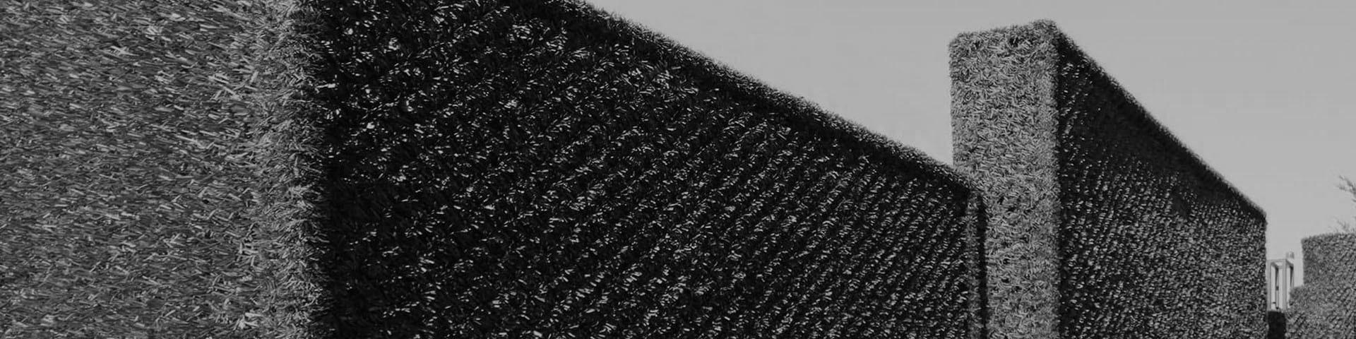 Anciens modèles de haies artificielles - accessoires - brise-vues